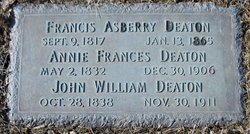 Francis Asberry Deaton