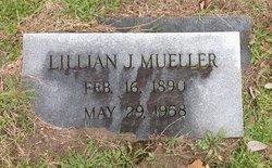 Lillian J <i>Angerstein</i> Mueller