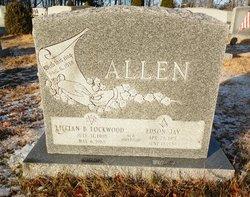 Lillian B. Lil <i>Lockwood</i> Allen