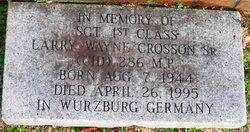Larry Wayne Crosson, Sr