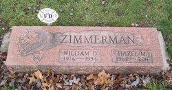 Hazel Marie <i>Johnson</i> Zimmerman