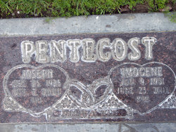 Imogene Ruth Jean <i>Roberts</i> Pentecost