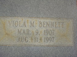 Viola <i>Massey</i> Bennett