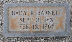 Daisy M. <i>King</i> Barnett