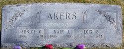 Eunice Gertrude Akers