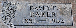 David E Baker