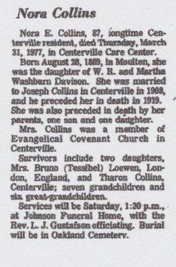 Nora <i>Davidson</i> Collins