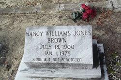 Nancy Williams <i>Jones</i> Brown