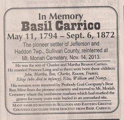 Basil Carrico