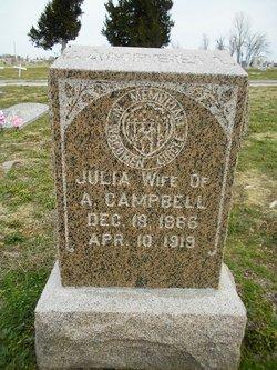 Julia <i>Curtis</i> Campbell