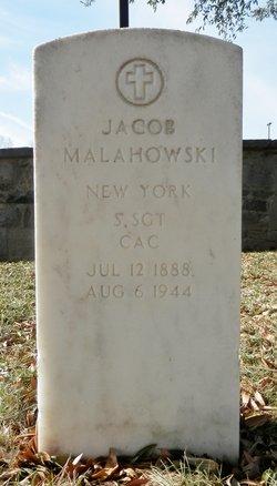 Sgt Jacob Malahowski