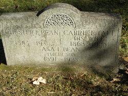 Carrie Ella <i>Taft</i> Bean