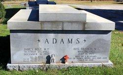 Dr Avis Katherine <i>Branch</i> Adams