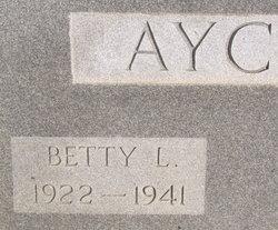 Bettie L <i>Yow</i> Aycoth
