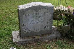 Berta Elizabeth <i>Allen</i> Custis