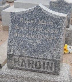 Ruby Maude Hardin