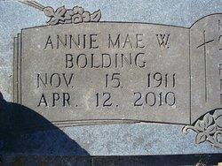 Annie Mae Big Annie <i>Worthy</i> Bolding