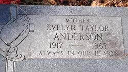 Evelyn <i>Taylor</i> Anderson