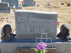 Janie Geneva <i>Hastings</i> Davis