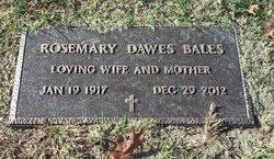 Mrs Rosemary Theresa <i>Dawes</i> Bales