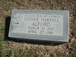 Esther <i>Harrell</i> Alford