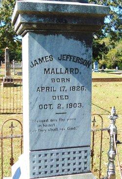 Capt James Jefferson Mallard