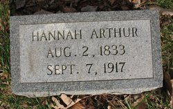 Hannah <i>Brown</i> Arthur
