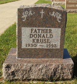 Rev Donald E Kruse