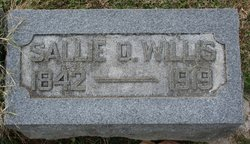 Sarah Snoddy Sallie <i>Overstreet</i> Willis