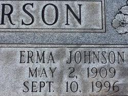 Erma <i>Johnson</i> Anderson