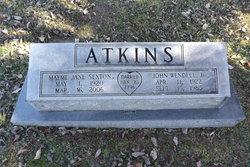 Mayme Jane <i>Sexton</i> Atkins