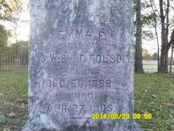 Emma F. Folsom.