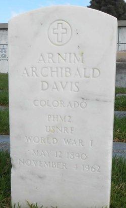 Arnim Archibald Davis
