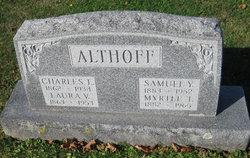Laura Virginia <i>Young</i> Althoff