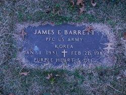 James E Barrett