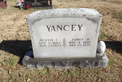 Myrtle Sophia Mertie <i>Collins</i> Yancey