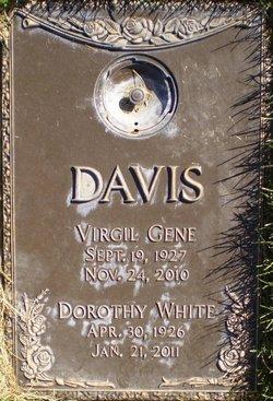 Dorothy Jean <i>White</i> Davis