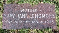 Mary Jane <i>Morley</i> Longmore