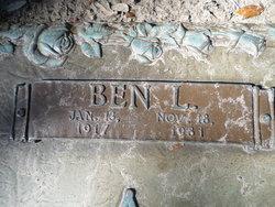 Ben L. Bennie Kay, Sr