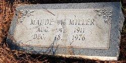 Maude <i>Albritton</i> Miller