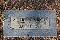 Albert M Simons