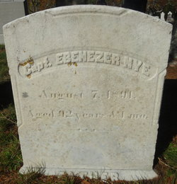 Capt Ebenezer Nye