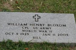 William Henry Bloxom