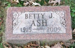 Betty Jane <i>Pearsall</i> Ash