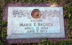 Marie Eleanor <i>Armstrong</i> Brosch
