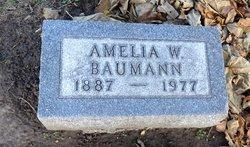 Amelia W Baumann