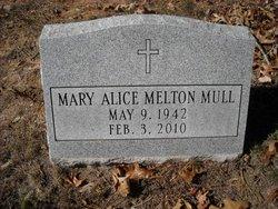Mary Alice <i>Melton</i> Mull