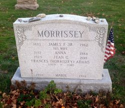 Frances Margaret <i>Morrissey</i> Adams