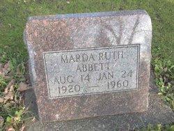 Marda Ruth Abbett