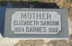 Elizabeth Harriet <i>Sansom</i> Barnes